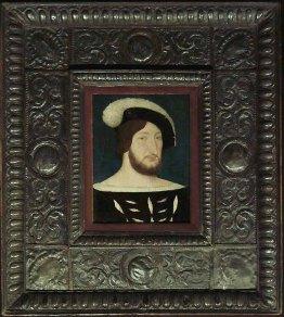 Jean Clouet (atelier de), François Ier, roi de France, v. 1525, H. : 21 cm. ; L. : 17 cm., Paris, musée du Louvre, © Musée du Louvre/A. Dequier - M. Bard.