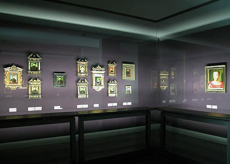 Musée du Louvre, Salle des peintres de portrait au XVIe siècle, © Musée du Louvre / A. Dequier.