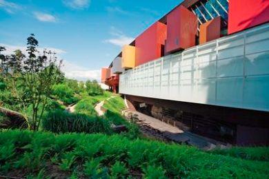 MQB.MQB. Le bâtiment Musée. Les boîtes scénographiques. Juin 2007.