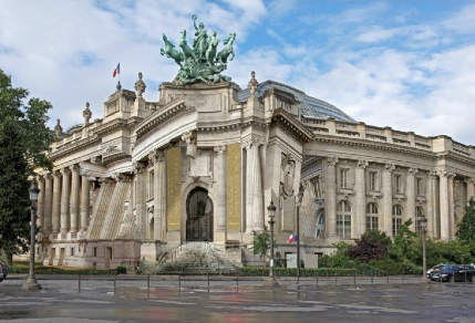 Façade du Grand Palais, par Pierre Delavie, © Grand Palais / RMN.