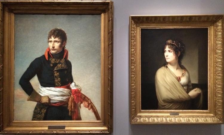 Portraits du général Bonaparte et de Joséphine de Beauharnais © Point Culture