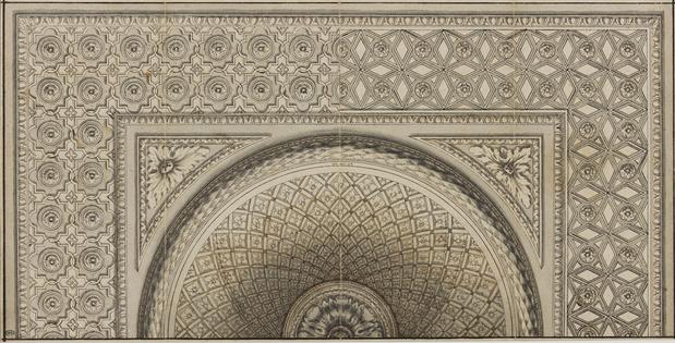 louvre plafond peint