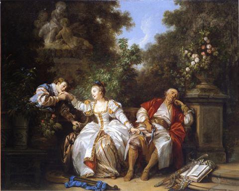 Jean-Baptiste Le Prince, La Précaution inutile, huile sur toile, 1774, H. : 73 cm. ; L. : 91 cm., Bayerische Staatsgemäldesammlungen, Staatsgalerie Ansbach. © Blauel / Gnamm, ARTOTHEK.