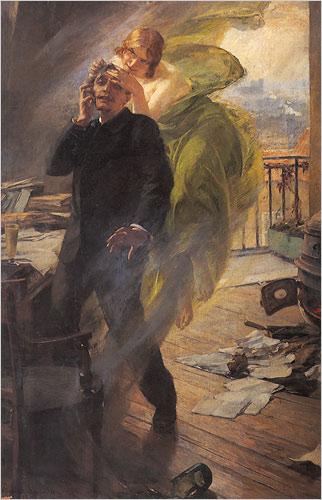 Albert Maignan, la Muse Verte.