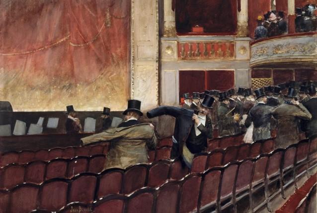 Jean Béraud, Scène de Théâtre.