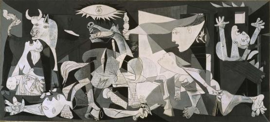 Guernica, Pablo Picasso C. Museo Reina Sofia
