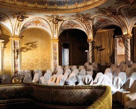 Théâtre impérial, château de Fontainebleau.