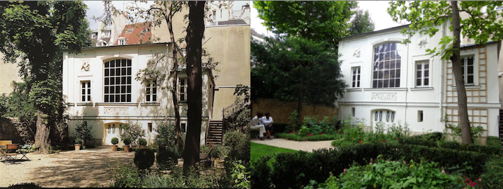 Jardin du Musée national Eugène Delacroix, Paris, 6e arr.