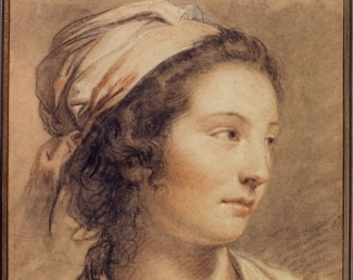 François-André Vincent, Portrait de Marie-Gabrielle Capet, vers 1786 © Petit Palais, Roger Viollet.