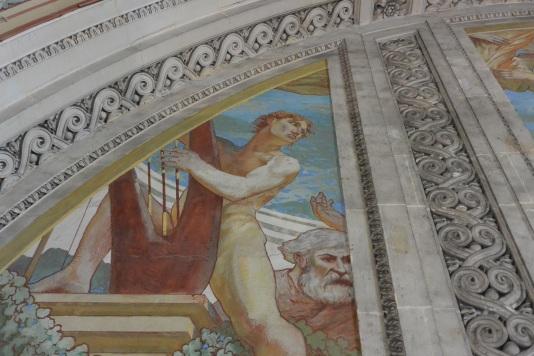 fresque détail
