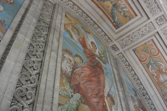 fresques tribunes panthéon