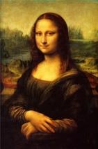 Léonard de Vinci, La Joconde, 103-6, Huile sur toile 77 × 53 cm, Musée du Louvre