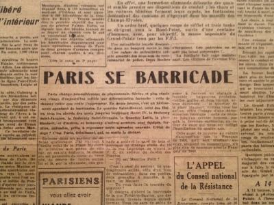 paris barricade