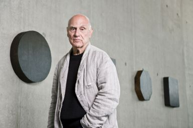 Richard Serra, Portrait. Photo: Markus Tretter. © Richard Serra/VBK, Wien, 2008, Kunsthaus Bregenz.