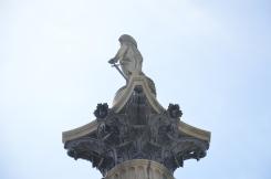 La colonne Nelson de Trafalgar Square, Londres. © Damien Tellas.