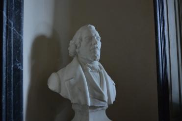 Buste de Delacroix par Félix Desruelles
