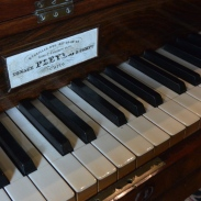 Piano Pleyel, détail