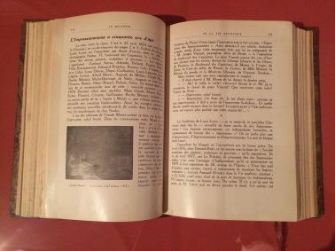 Adolphe Tabarant, « L'impressionnisme a cinquante ans d'âge », Le Bulletin de la Vie artistique, n° 8, Paris, 15 avril 1924. Première reproduction d'Impression, soleil levant.
