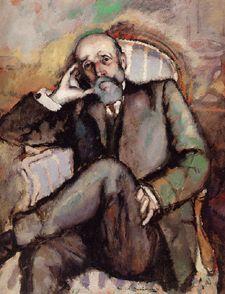 Portrait du père de l'artiste, 1910