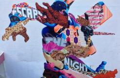 Tristan Eaton -mur pignon du 4-6 rue du Chevaleret 75013
