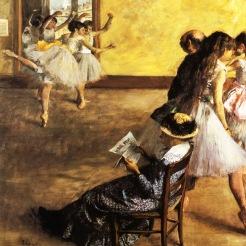 Edgar Degas, La classe de Ballet, 1880, Philadelphie, Philadelphia Museum of Art