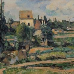 Paul Cézanne, le Moulin de la Couleuvre à Pontoise, 1881, Berlin, Nationalgalerie, Staatilche Museen zu Berlin
