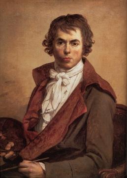 Jacques-Louis Davis, Autoportrait de l'artiste, 1794, Huile sur Toile, Louvre