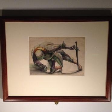 """""""Le Gardien renversé"""" d'après Matthias Grünewald. Anonyme"""
