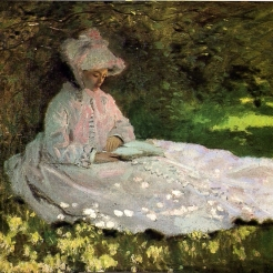 Claude Monet, la Liseuse, 1872, Baltimore, The Walters Art Museum