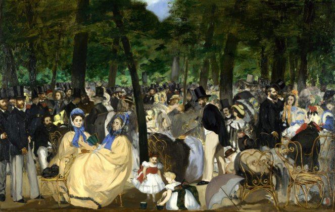La musique aux Tuileries
