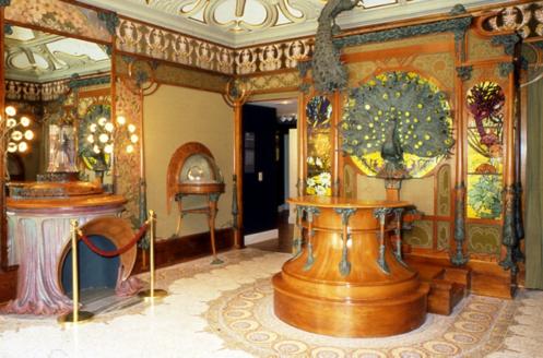 La boutique du bijoutier Georges Fouquet. Alphonse Mucha. Copyright © © Musée Carnavalet / Roger-Viollet