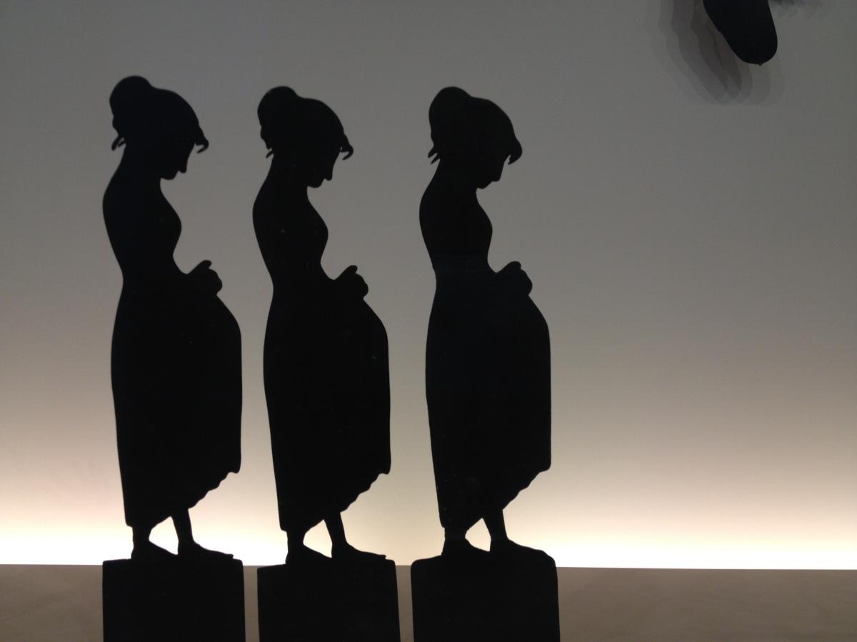 Le théâtre d'ombres du cabaret du Chat noir au musée d'Orsay