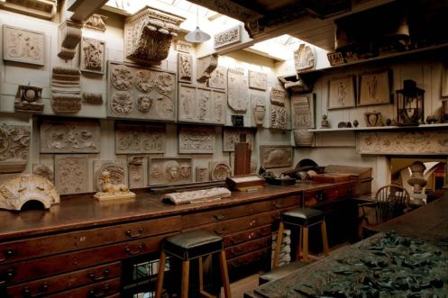 Sir John Soane Museum, Upper Drawing Office. Photo : Derry Moore