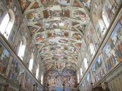 La chapelle Sixtine.