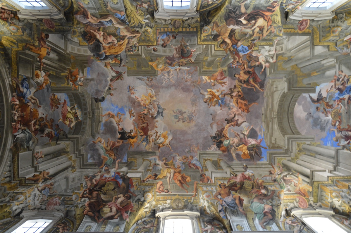 rome et ses plafonds pointculture