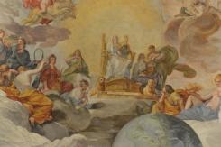 Andrea Sacchi, la Sagesse divine, 1629-1633, palais Barberini. © Damien Tellas