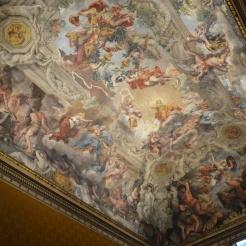 Pierre de Cortone, la Divine providence, 1633-1639, palais Barberini - vue d'ensemble. © Damien Tellas