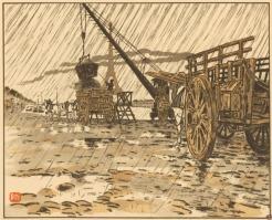Henri Rivière (1864-1951), 1902. Lithographie en 5 couleurs, 170 x 200 mm BnF, département des Estampes et de la Photographie, DC-422-FOL © ADAGP 2009, pour l'œuvre d'Henri Rivière