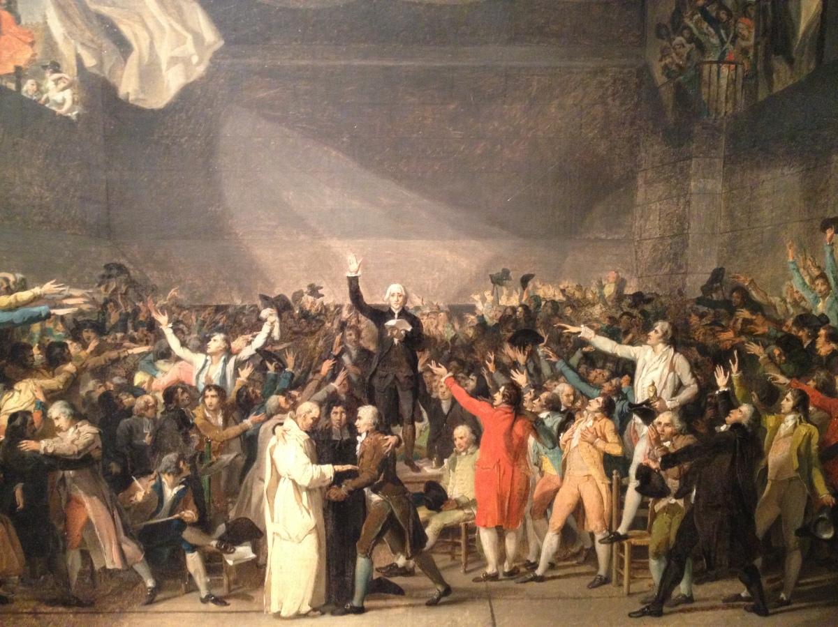 Les salles de la Révolution française du musée Carnavalet