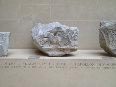 Fragments du temple d'Apollon