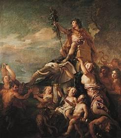 Charles de La Fosse, Le Triomphe de Bacchus, 1701, Paris, musée du Louvre.