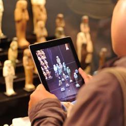 Le photographe à la tablette iPhone