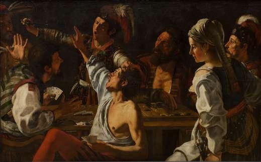 Theodoor Rombouts La Rixe, 1620-1630 150 x 241 cm © Copenhagen, Statens Museum for Kunst