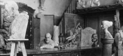 Albert Harlingue, L'atelier d'Antoine Bourdelle, 1910, Paris, musée Bourdelle.