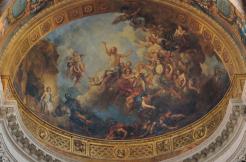 Charles de La Fosse, La Résurrection du Christ, 1709-1710, chapelle royale du château, Versailles, Musée national du Château.