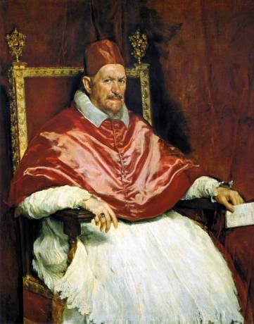 Velázquez, Portrait du pape Innocent X, 1650, Rome, Galleria Doria Pamphilj