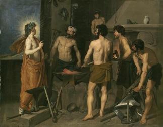 Velázquez, La Forge de Vulcain, vers 1630, Museo Nacional del Prado, Madrid