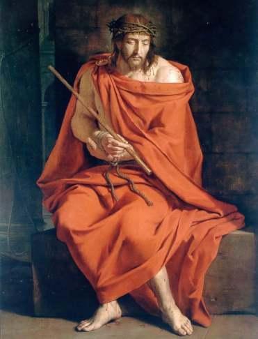 Philippe de Champaigne, Ecce Homo, Magny-les-Hamueaux, Musée national des Granges de Port-Royal des Champs.