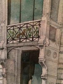 Hector Guimard, Hôtel de Monsieur Paul Hankar à Bruxelles, 1895, Paris, Les Arts décoratifs.