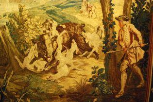 La Chasse du Sanglier, d'après les dessins de Jean Baptiste Oudry